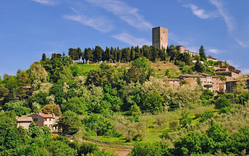 Montecatini In Der Toskan Bei Volterra