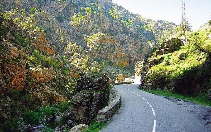 Korsika Schlucht
