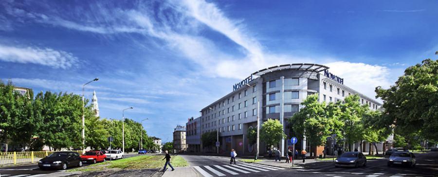 Hotel Novotel Stettin Nsk Motorradreisen